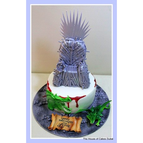 Game of Thrones cake 3