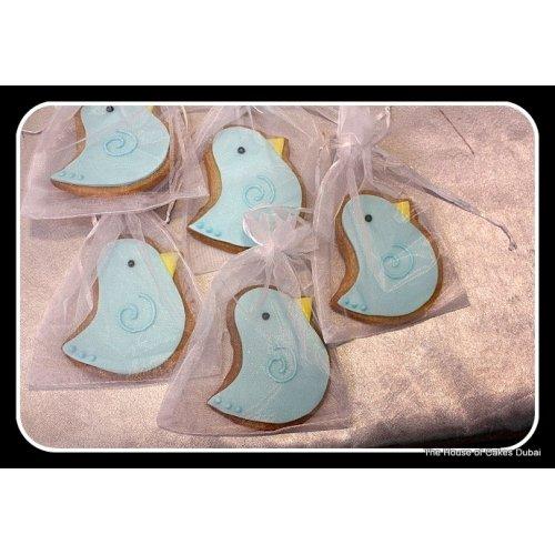 Blue bird cookies