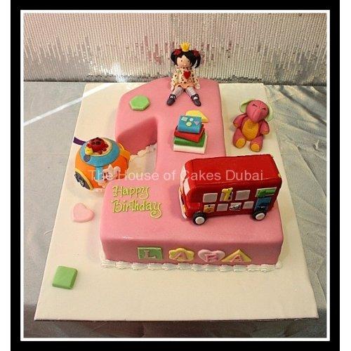 First birthday cake Lara