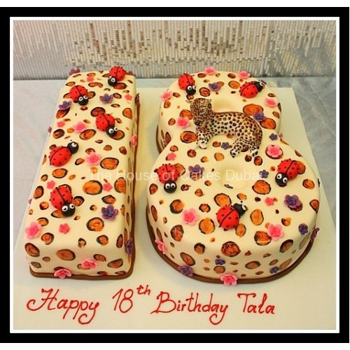 Marvelous 18Th Birthday Cake 9 Personalised Birthday Cards Veneteletsinfo