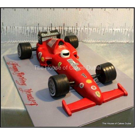 ferrari racing car cake 8