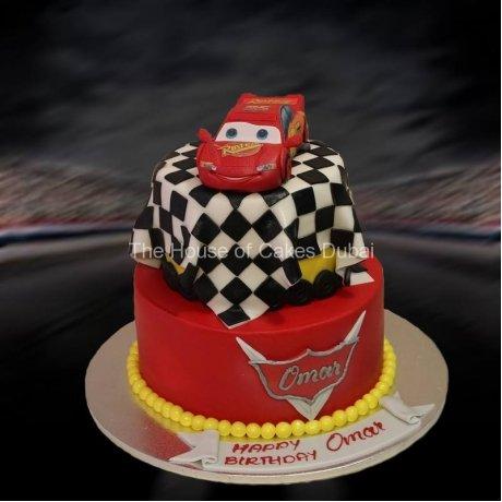 Lightning McQueen Cake 9
