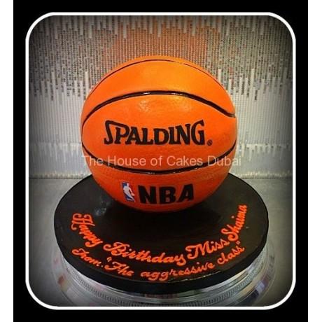 Basketball cake 5