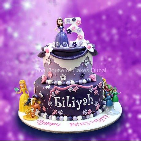 princess sofia cake 7 7
