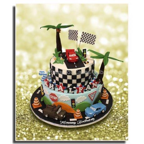 Disney cars cake 4