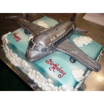 Air Arabia Plane Cake