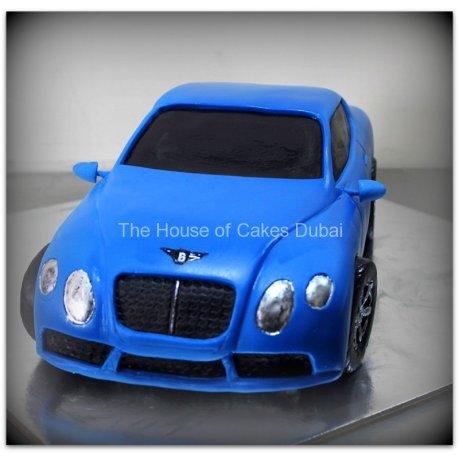 Bentley Car Cake