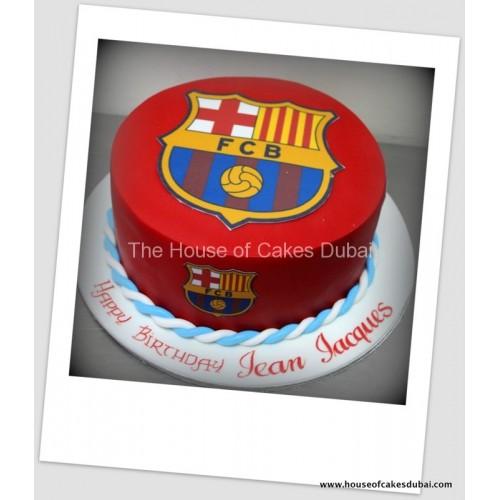 Barcelona cake 11