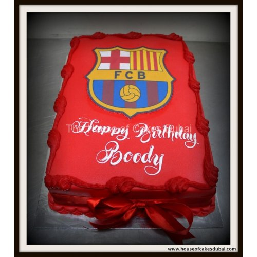Barcelona cake 14