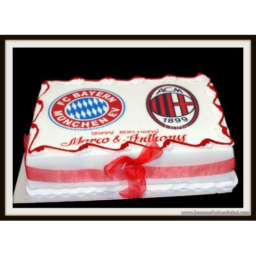Bayern & Milan Cake