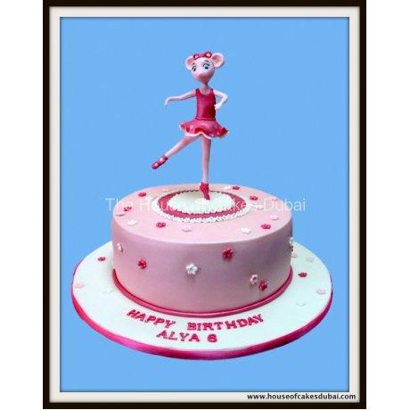 Angelina Ballerina Cake 2
