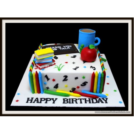 cake for a teacher 7