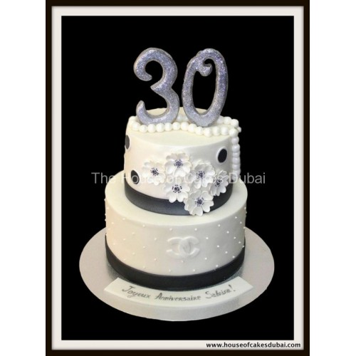 Chanel cake 6