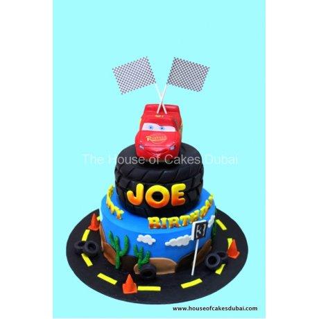Disney cars cake 6