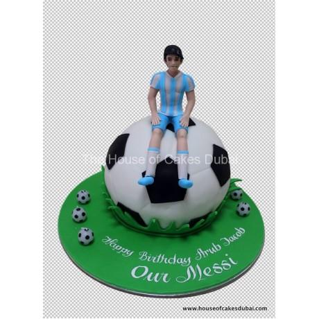 Argentina football team cake