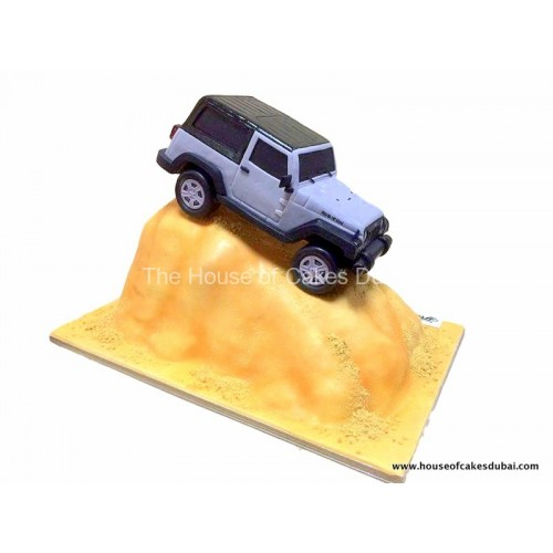 Dune bashing cake