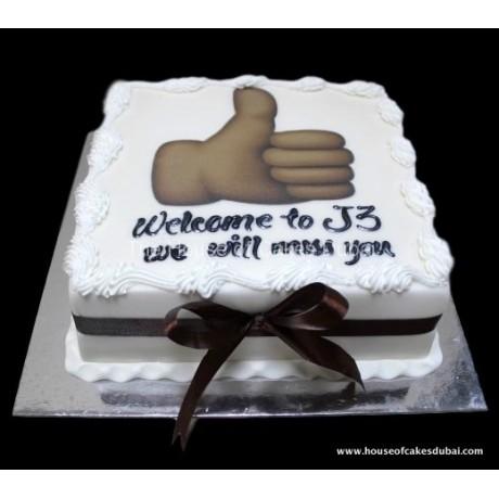 Like thumb up cake