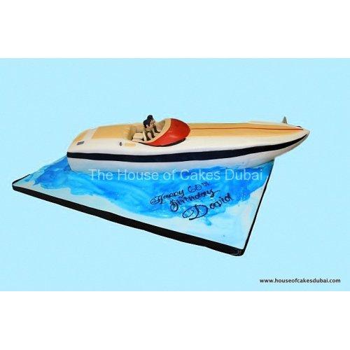 Boat cake 4