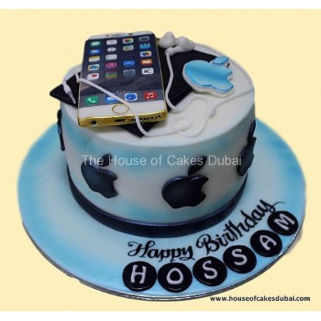 Apple products cake