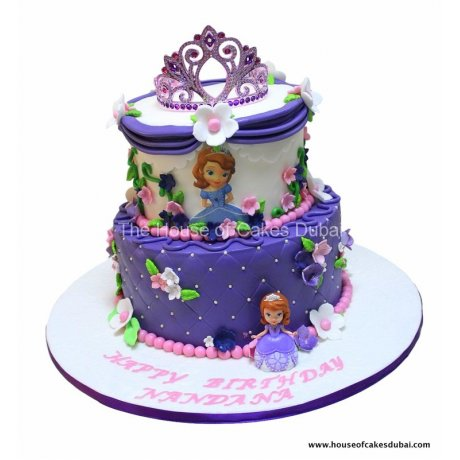 sofia the first cake 8 6