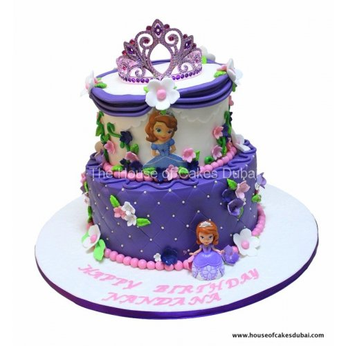 sofia the first cake 8 7