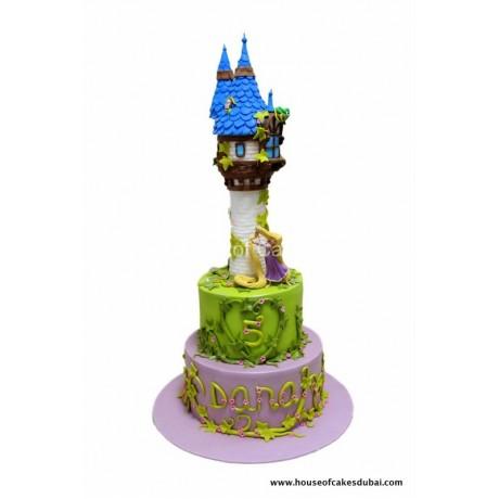 Rapunzel cake 7