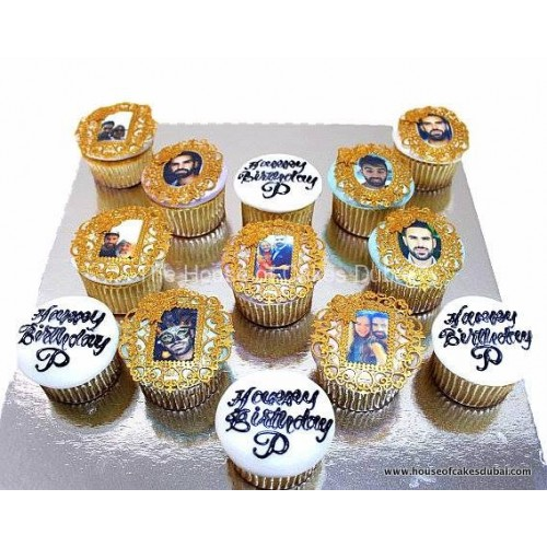 cupcakes with photo 2 7