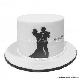 Engagement cake 4