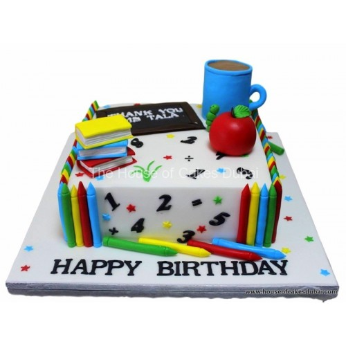 cake for a teacher 8