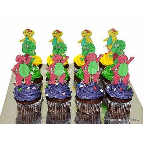 barney cupcakes 2 6