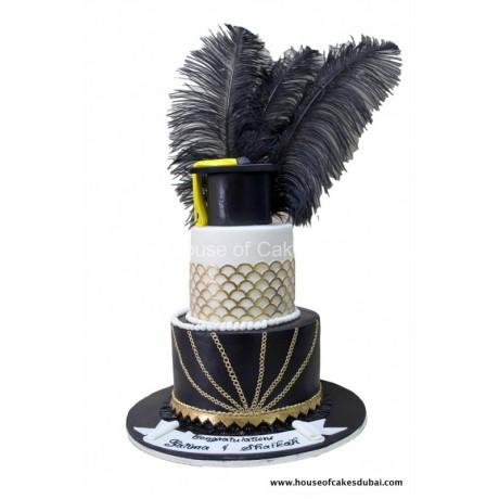 elegant graduation cake 6