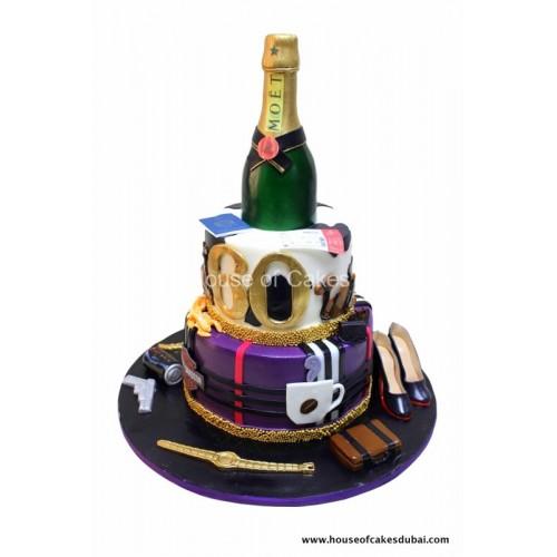 birthday cake with favorites 4 8