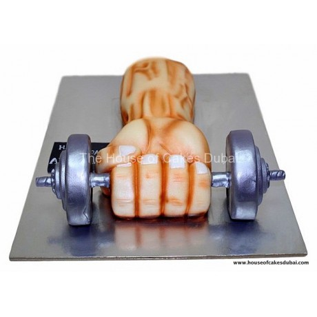 Muscle Arm Cake 2