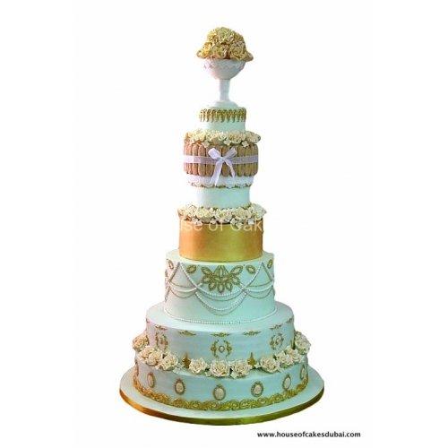 elegant wedding cake 2 7