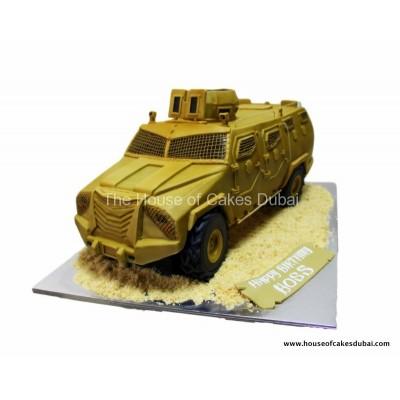 Inkas armoured truck cake