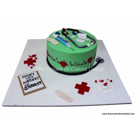 doctor's themed cake 6