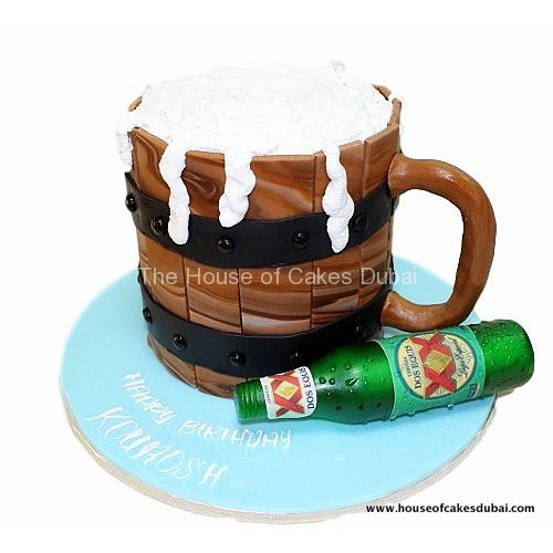 Beer cake 3