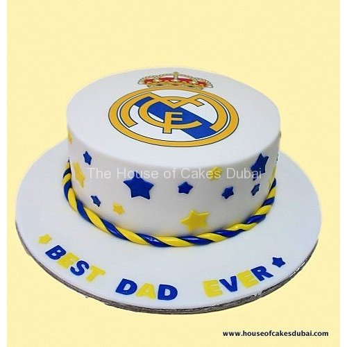 Astonishing Real Madrid Cake 8 Funny Birthday Cards Online Elaedamsfinfo