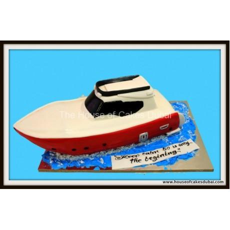 Boat cake 3