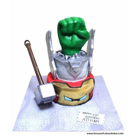 avengers cake 7 12