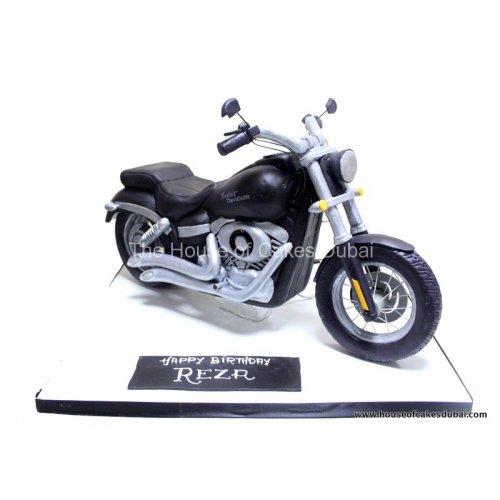 3D Harley Davidson Bike Cake
