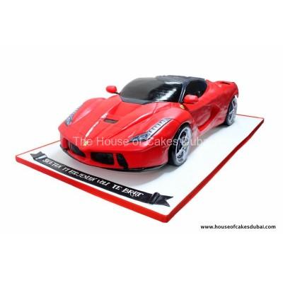 Ferrari LaFerrari car cake