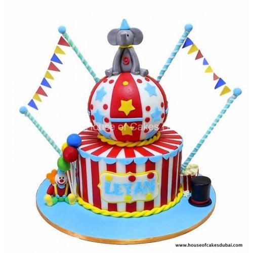 circus cake 7 8