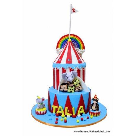 Circus cake 8