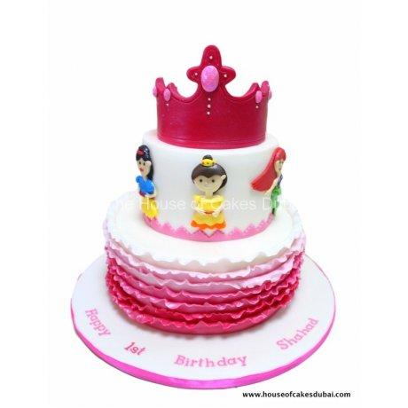 princesses cake 21 6