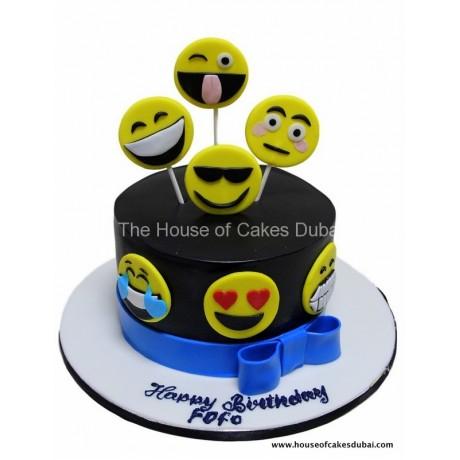 emoticons cake 1 6