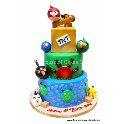 Angry birds cake 15