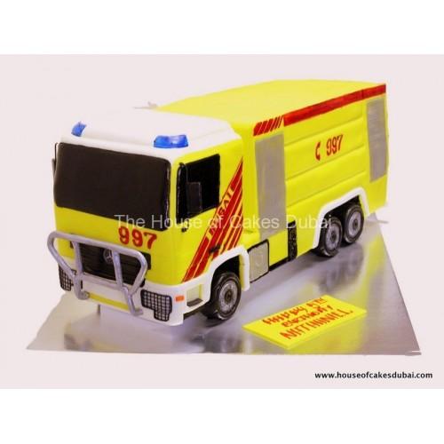 fire truck cake 2 7