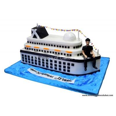 Cruise ship cake 2