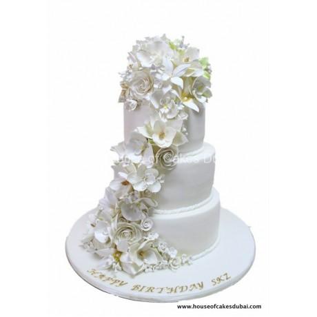 Amazing flowers cake 2